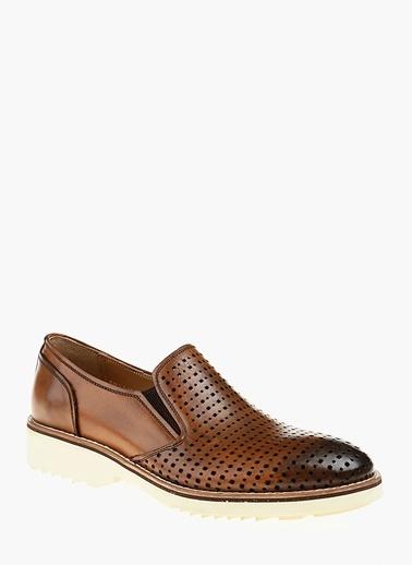 Divarese %100 Deri Klasik Ayakkabı Taba